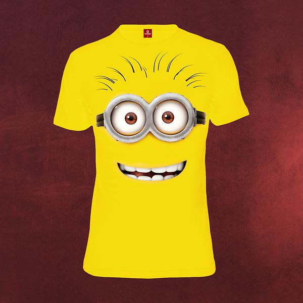 Ich - Einfach Unverbesserlich - Minion Face T-Shirt