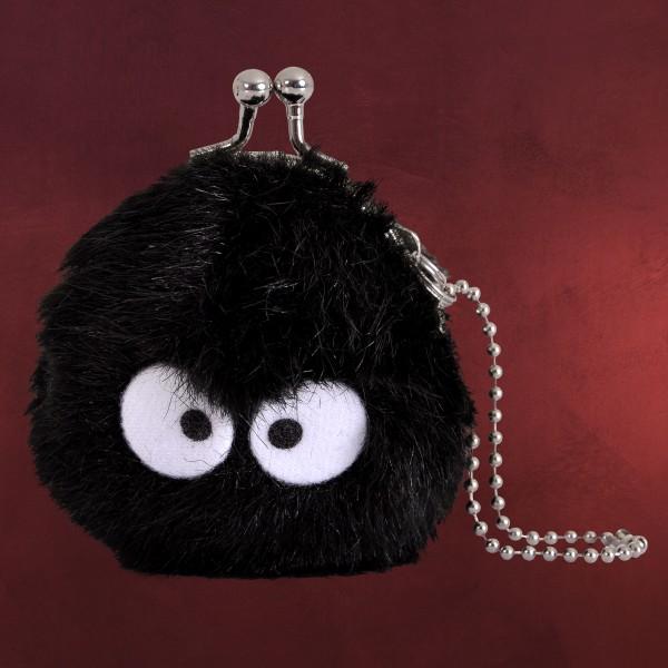 Totoro - Rußmännchen Plüsch Kleingeldbörse
