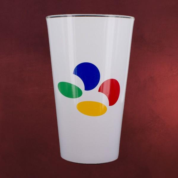 Nintendo - SNES Logo Glas