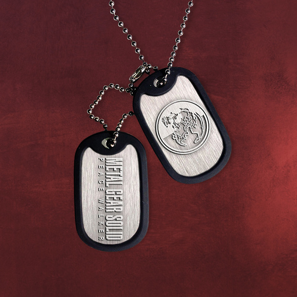 Metal Gear - Solid Peace Walker Dog-Tag Kette