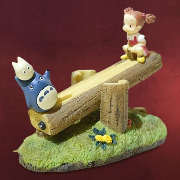 Totoro - Mei und Totoros auf Wippe Figur