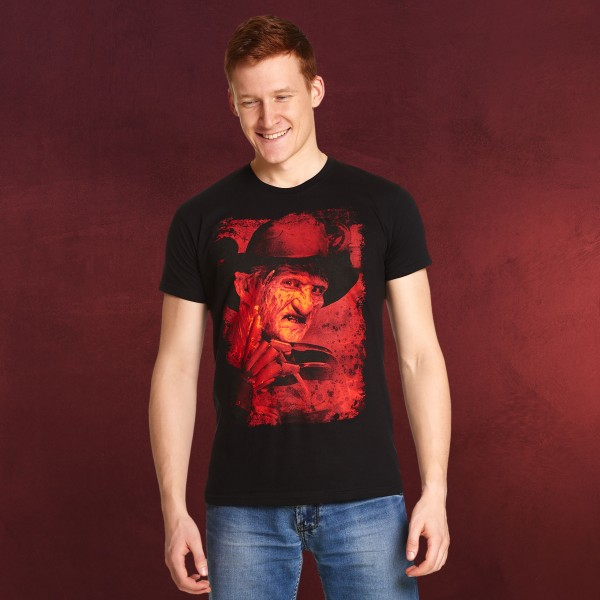 Freddy Krueger - Nightmare on Elm Street T-Shirt schwarz