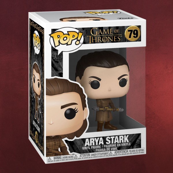 Game of Thrones - Arya Stark Season 8 Funko Pop Figur