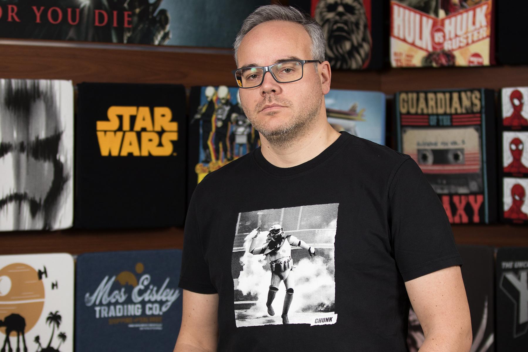 Jens Geschenketipp: Galactic Rioter T-Shirt