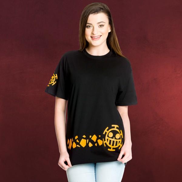One Piece - Trafalgar New World T-Shirt schwarz