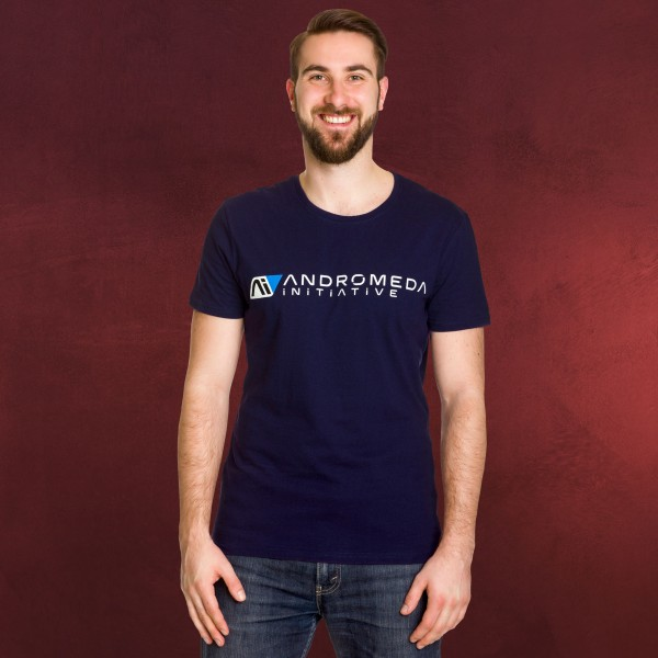 Mass Effect - Andromeda Initiative T-Shirt blau
