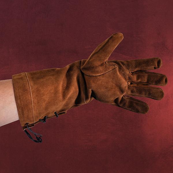 Handschuhe Leder - braun