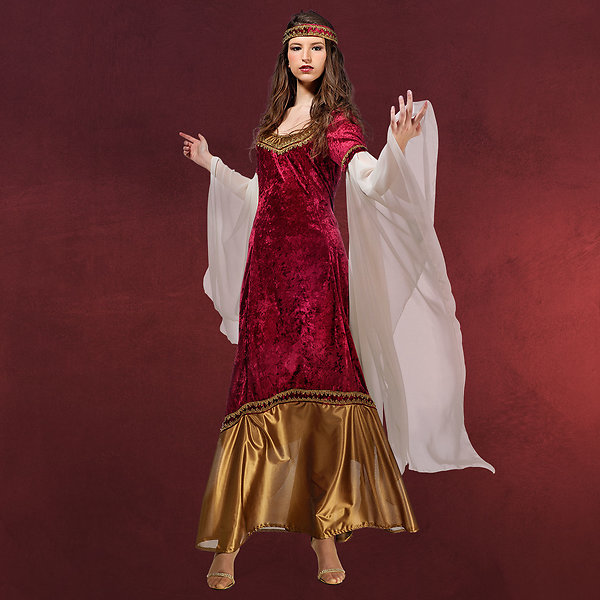 Mystica Prinzessin rot - Kostüm Damen