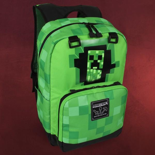 Minecraft - Creeper Inside Rucksack grün
