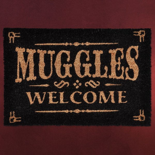 Harry Potter - Muggles Welcome Fußmatte