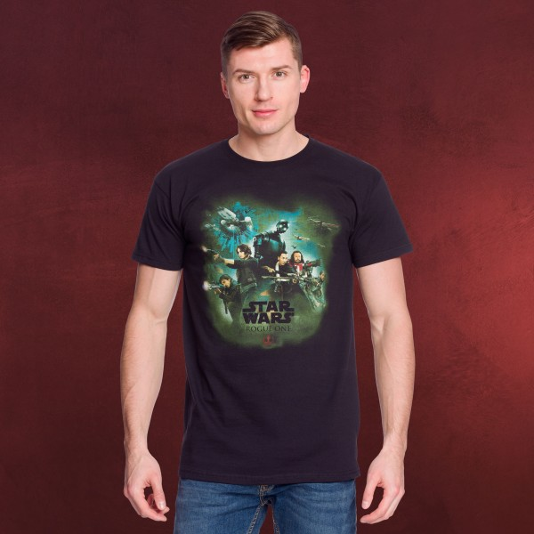 Rogue One - Star Wars Team Collage T-Shirt