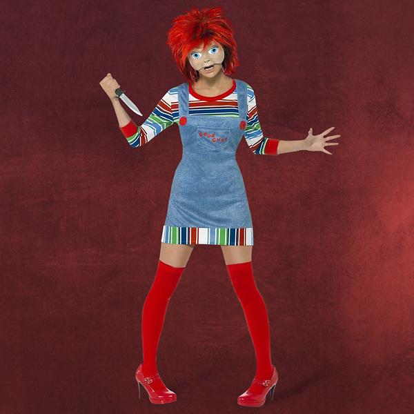 Chucky Horror Kostüm Damen