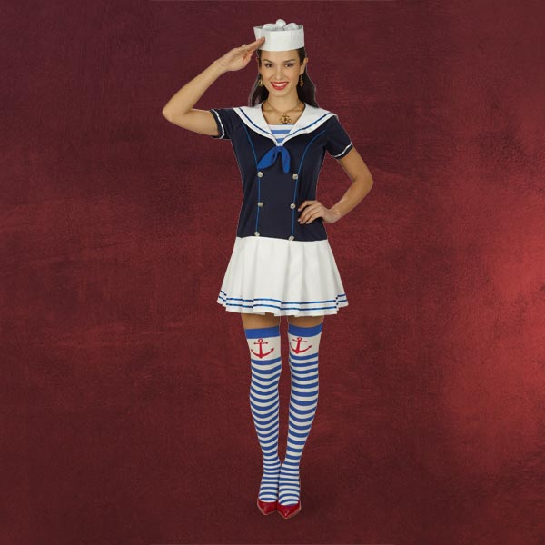 Sailor Girl - Kostüm