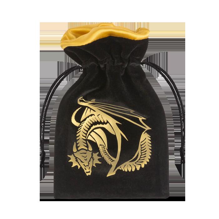 Dragons RPG Symbol Würfelbeutel schwarz