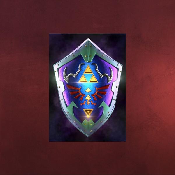 Hylia Schild Mini Metall Poster für Zelda Fans