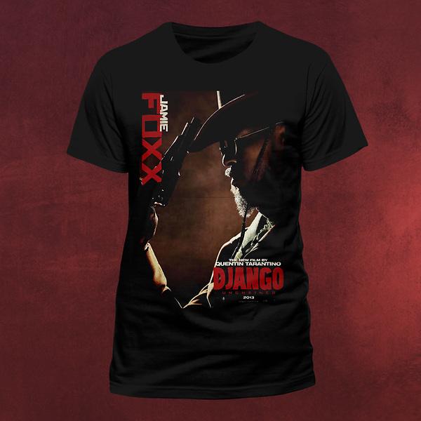 Django Unchained - Jamie Foxx - T-Shirt