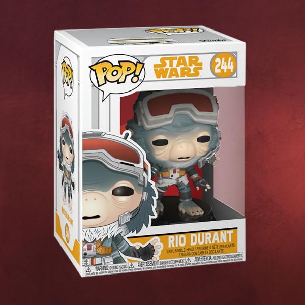 Star Wars - Rio Durant Funko Pop Wackelkopf-Figur