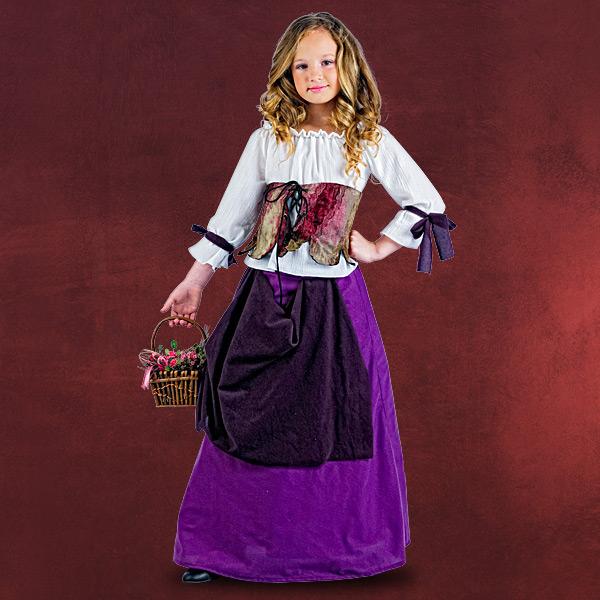 Wirtin Mittelalter Kinderkostüm
