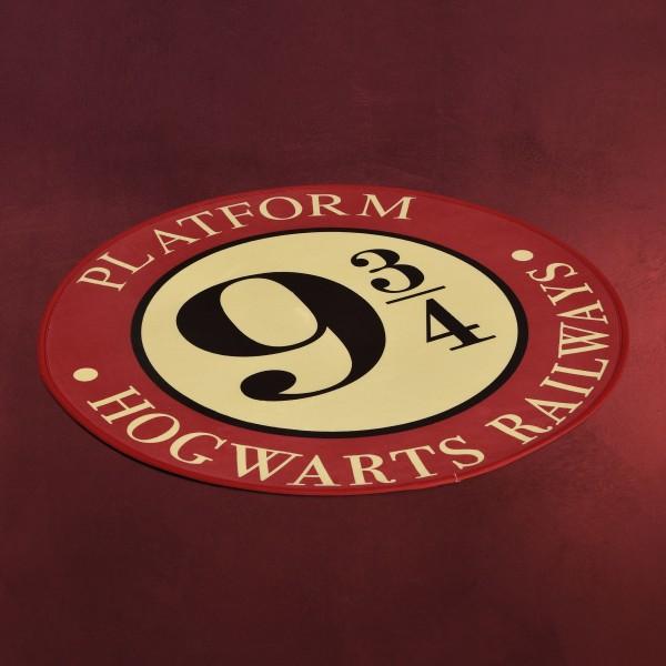 Harry Potter - Gleis 9 3/4 Rundteppich