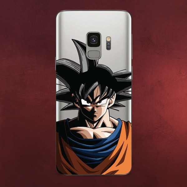 Dragon Ball Z - Goku Samsung Galaxy S9 Handyhülle Silikon transparent