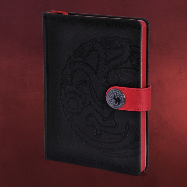 Game of Thrones - Targaryen Wappen Premium Notizbuch A5