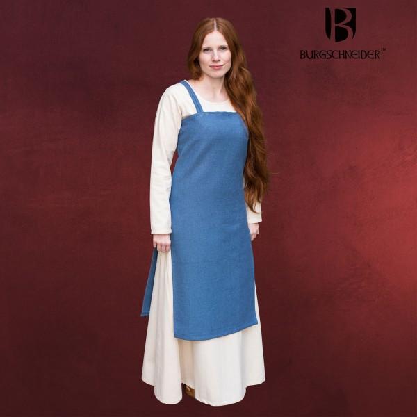 Mittelalter Trägerkleid Frida blau