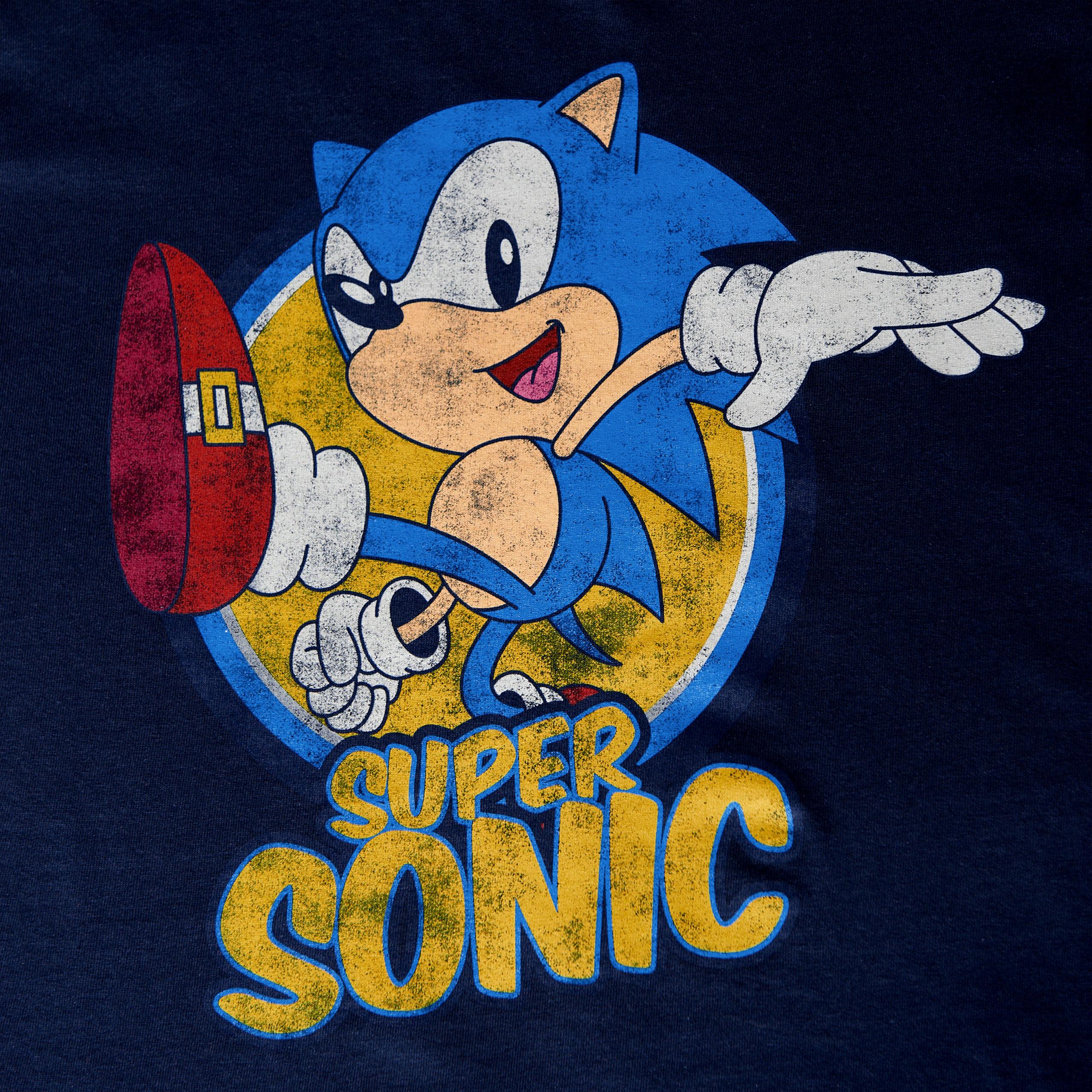 Sonic the Hedgehog   Super Sonic T Shirt blau