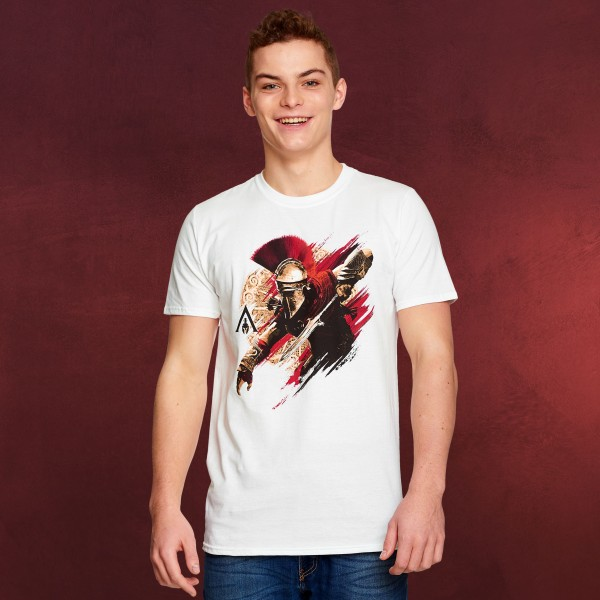 Assassins Creed - Alexios Armour T-Shirt weiß