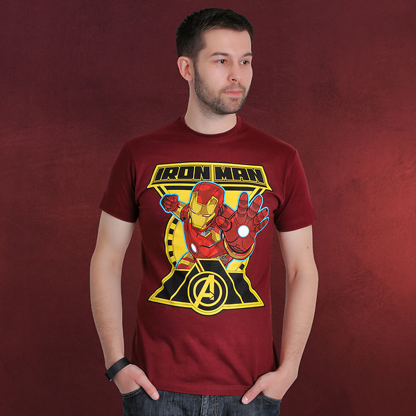 Avengers - Age of Ultron - Iron Man Comic T-Shirt