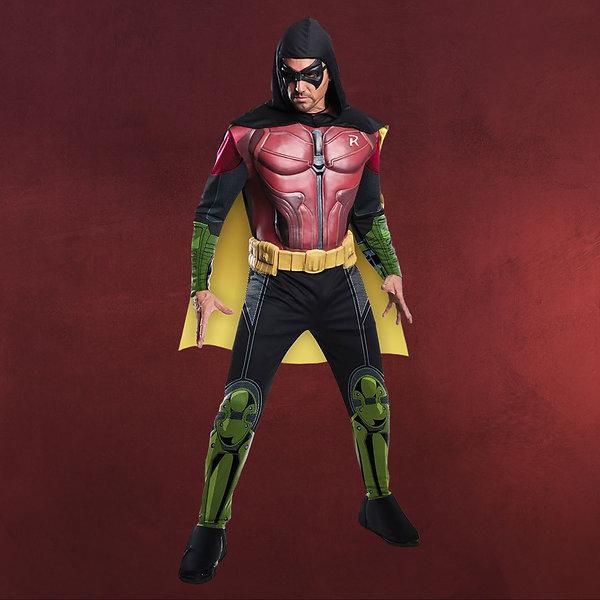 Batman - Arkham Robin Kostüm mit Muskeln