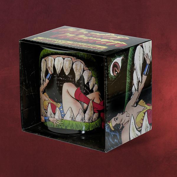 Wonder Woman - Jaws Of The Leviathan Tasse