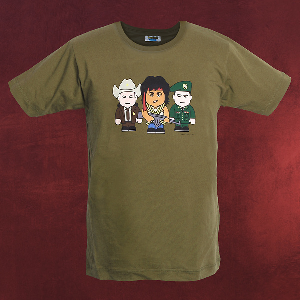 Green Beret - Toonstar Cartoon T-Shirt