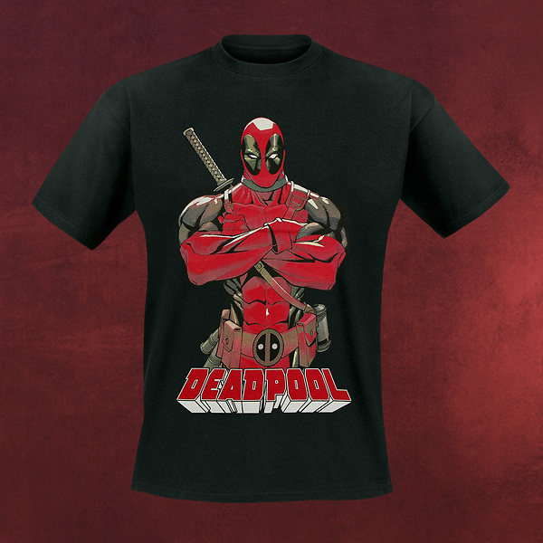 Deadpool - Hero Pose T-Shirt