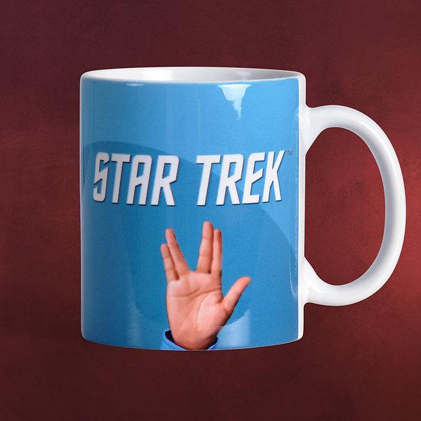 Star Trek - Vulkanischer Gruß Tasse