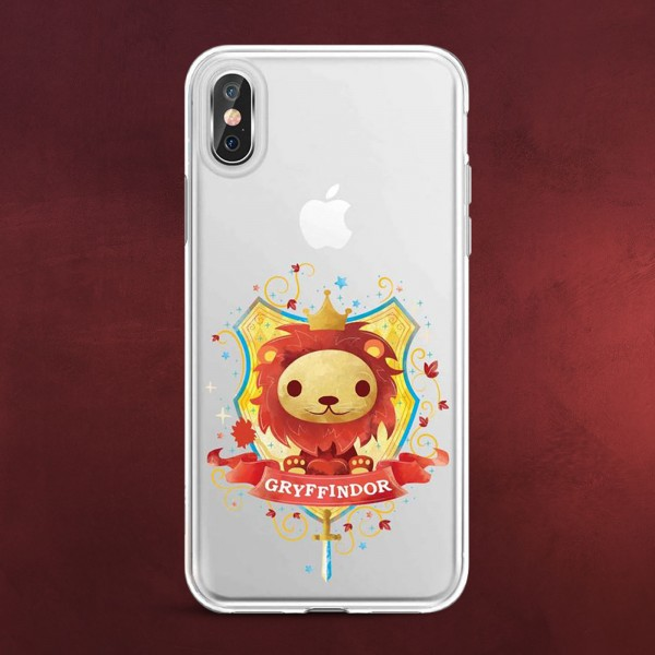 Harry Potter - Magical Gryffindor iPhone X / XS Handyhülle Silikon transparent