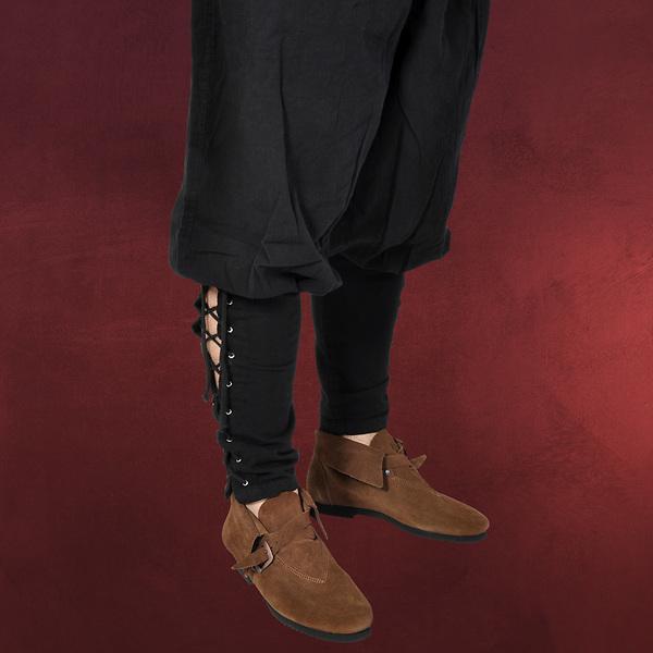 Mittelalterliche Wikingerhose schwarz