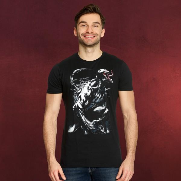 Venom - Angry Symbiote T-Shirt schwarz