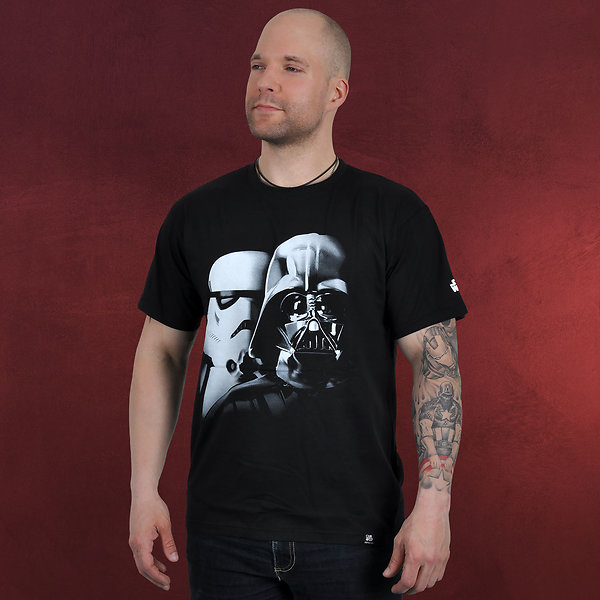 Star Wars - Vader-Trooper T-Shirt schwarz