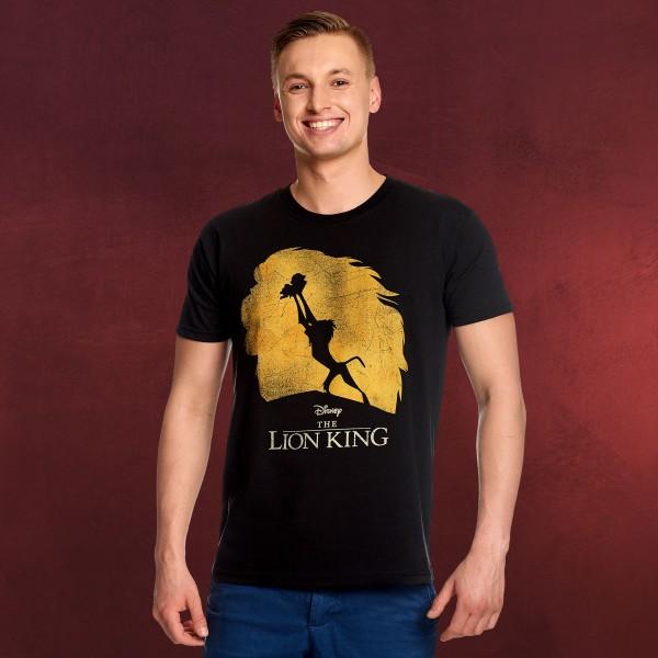 König der Löwen - Silhouette T-Shirt schwarz