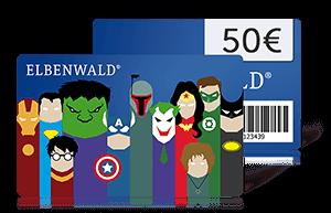 Elbenwald Geschenkkarten im Wert von 10€, 20€ und 50€