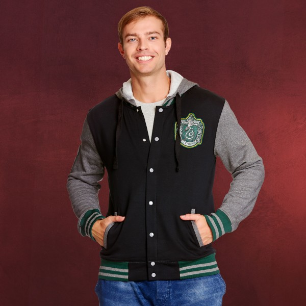 Harry Potter - Slytherin College Jacke mit Kapuze