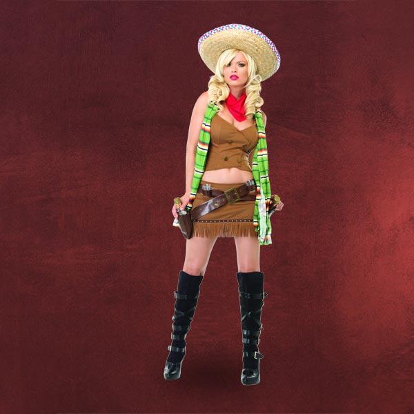 Sexy Mexikanerin Kostüm