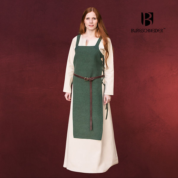 Mittelalter Überkleid Gyda grün