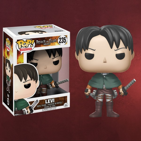 Attack on Titan - Levi Mini-Figur