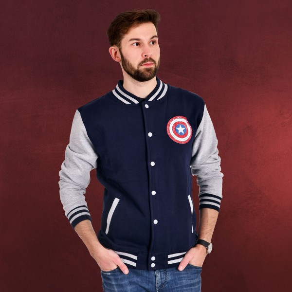 Marvel - Who Will Wield The Shield College Jacke