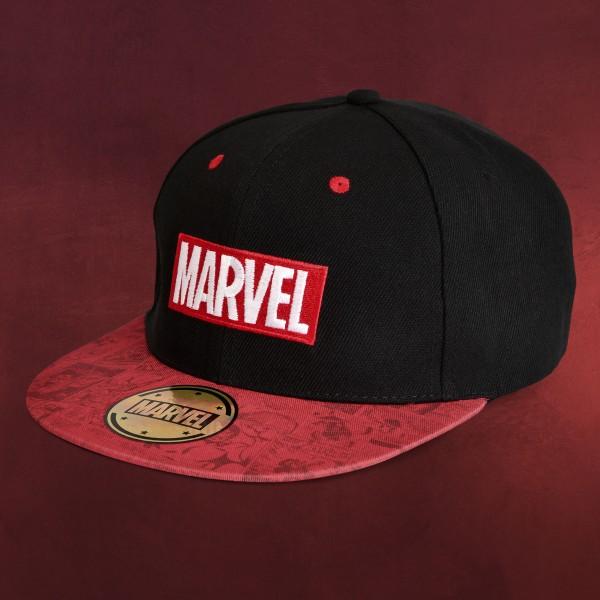 Marvel Comics Basecap schwarz-rot