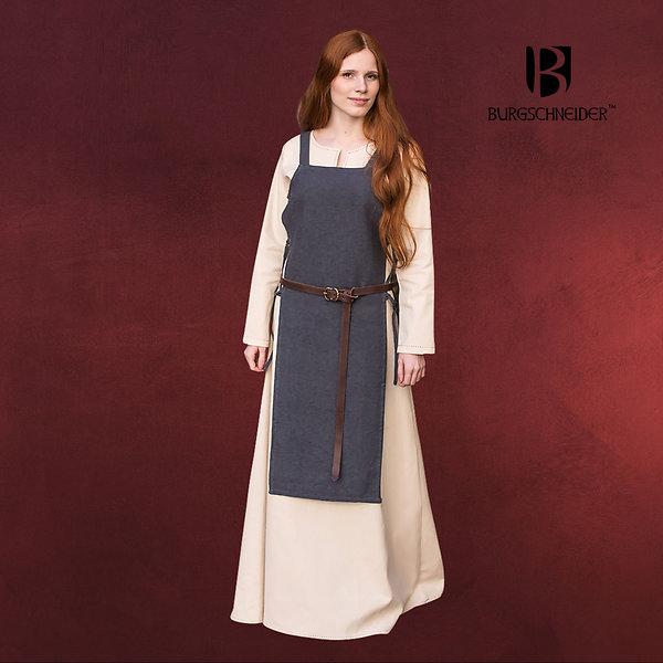 Mittelalter Überkleid Gyda grau