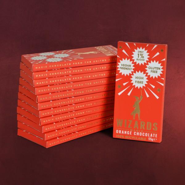 Wizards Magic - Orangen Schokolade 12 Tafeln