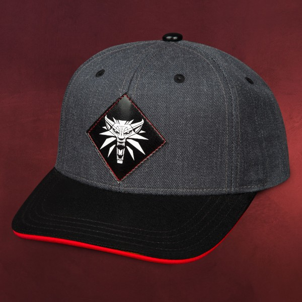 Witcher - Wolf Medaillon Patch Snapback Cap