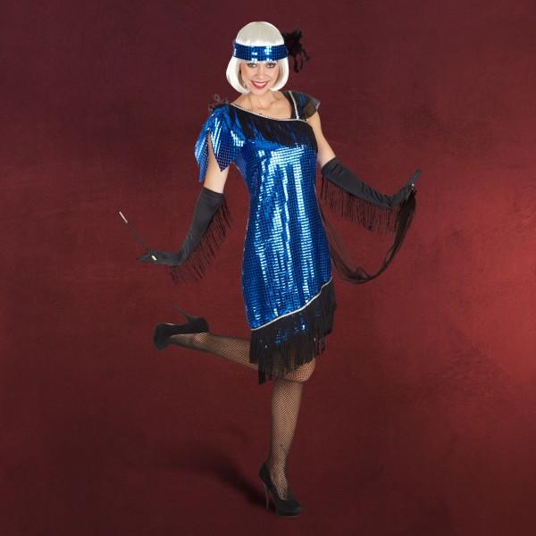 Blue Girl - Charleston Kostüm